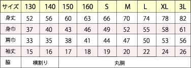 B-サイズ表